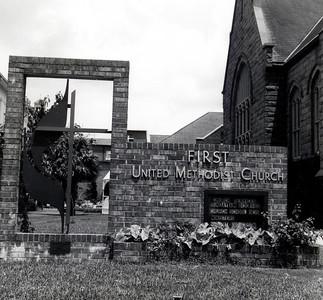 Exterior views of Pensacola First UMC's Facilities