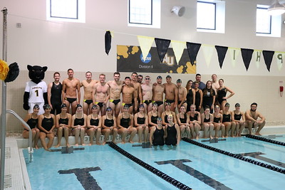 Panthers vs Postgrads: Swimming