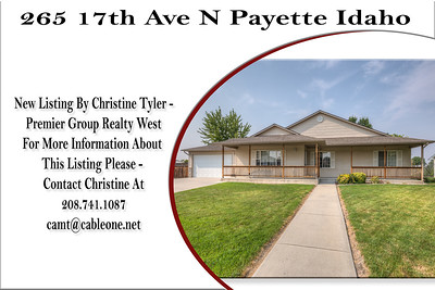 265 17th Ave N Payette Idaho - Christine Tyler