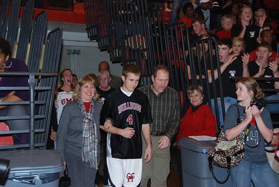 Senior Night - Basketball - Feb 2012