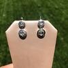 .85ctw Antique Table Cut Diamond Double Drop Earrings 10