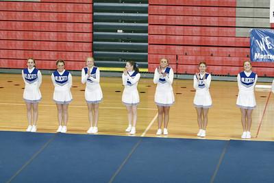 Montague Girls Varsity Competitive Cheer - 2006-2007 - 1/31/2007 League Meet at Fremont
