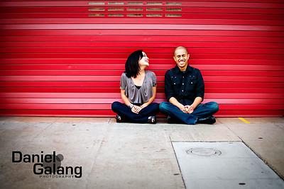 Chris and Lisa