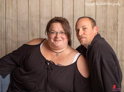 Nick and Sarah Portraits