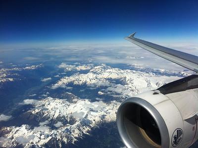 Paris and Swiss Alps