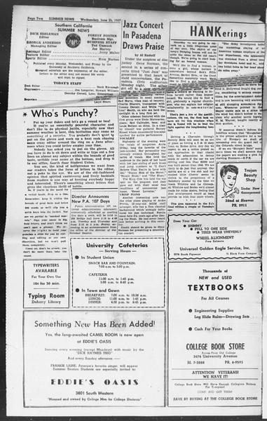 Summer News, Vol. 2, No. 2, June 25, 1947