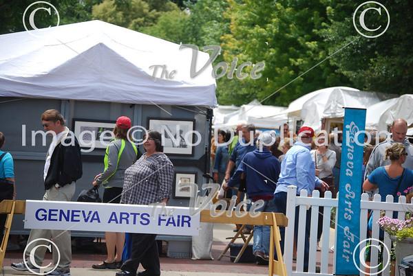 Geneva Arts Fair in Geneva, Ill 7-28-13