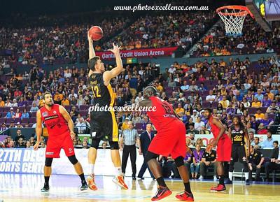 Sydney Kings vs Perth Wildcats Dec 15, 2015
