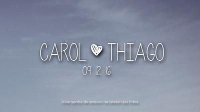 Carol & Thiago 09-12-16