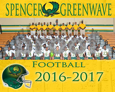 Spencer Football 2016-2017