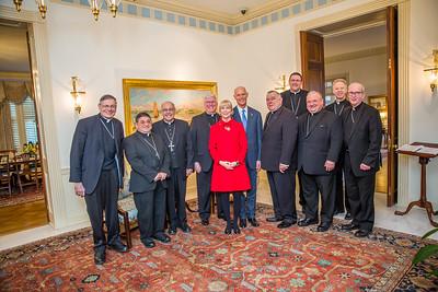1-31-2018 Meeting with Catholic Bishops