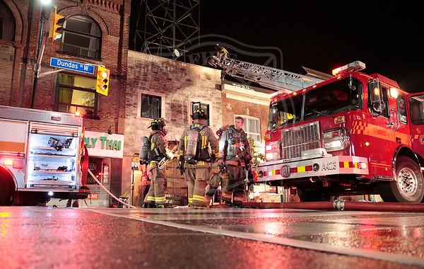 October 22, 2015 - Working Fire - 3030 Dundas Street West