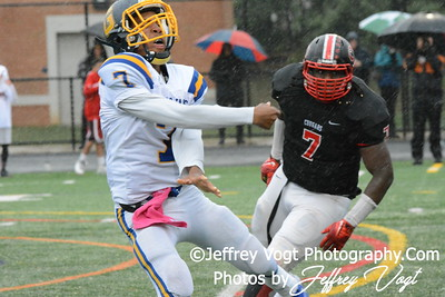 10-02-2015 Gaithersburg HS vs Quince Orchard HS Varsity Football, Photos by Jeffrey Vogt Photography