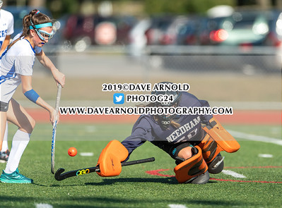 9/16/2019 - Varsity Field Hockey - Needham vs Dover-Sherborn