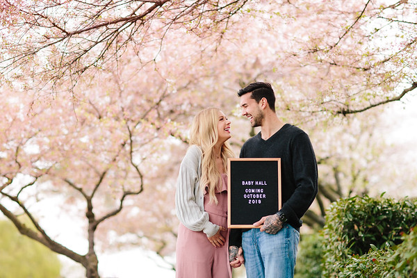Alisha & Matt | Baby Announcement