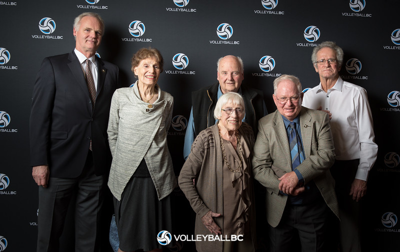 2018 Volleyball BC Hall of Fame & Excellence Awards