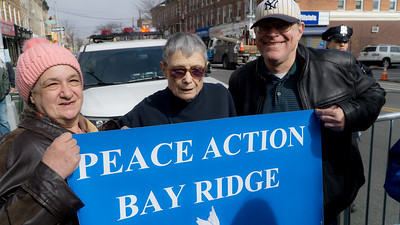 Peace Action Bay Ridge is in the house!