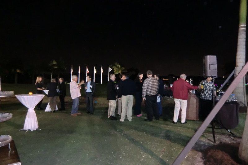 Opening Reception & Night Golf on the Masters Green