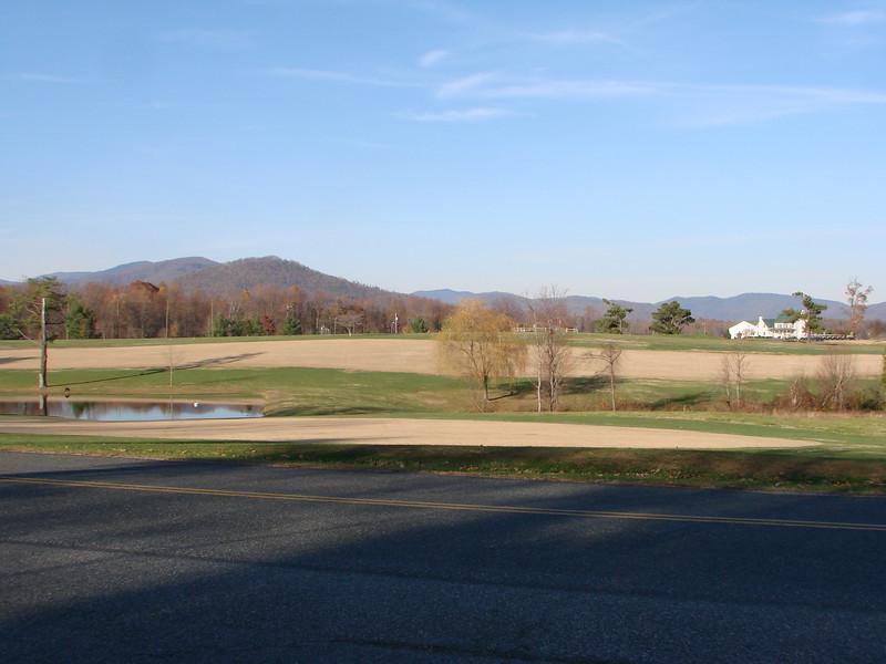 Scenic drive to Fairview Christian Church, Hood VA