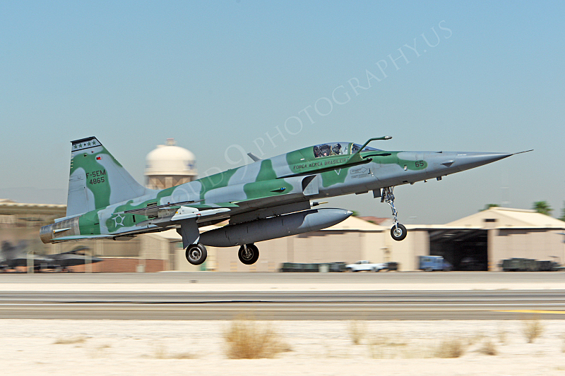 F-5FORG 00004 Northrop F-5EM Freedom Fighter Brazilian Air Force 4865 Nellis AFB by Peter J Mancus.JPG