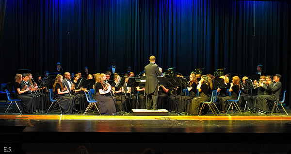 2012-02-12 Photographs - Concert Band, Symphonic Band, and Wind Ensemble