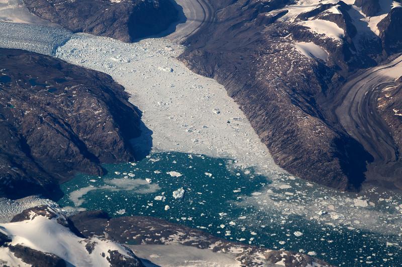 Greenland glacier (retreating)