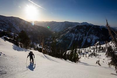 040221 Big Smoky Peak Ski