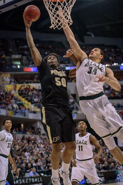 3/13/16 MBB: Purdue vs. Michigan State (Big Ten Tournament Finals)