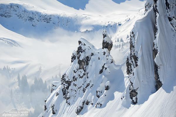 Fiderescharte ski tour, Kleinwalsertal 2013-03-27