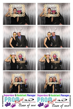 Whistler Blackcomb Supervisor & Asst Manager Prom Night