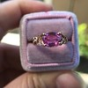 2.40ct Pink Sapphire Ring, by Rose Gold Ring by Beverly K 26