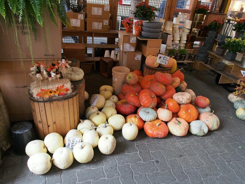 Oct. 19/13 - Outside the Granville Public Market