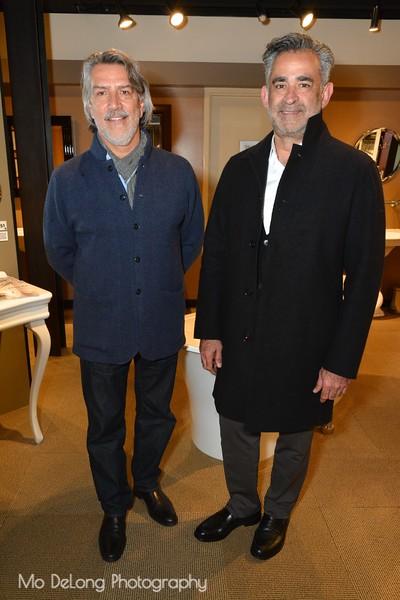 Micheal Garcia and Farid Tamjidi