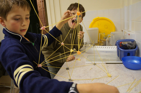 Thursday Spaghetti Towers