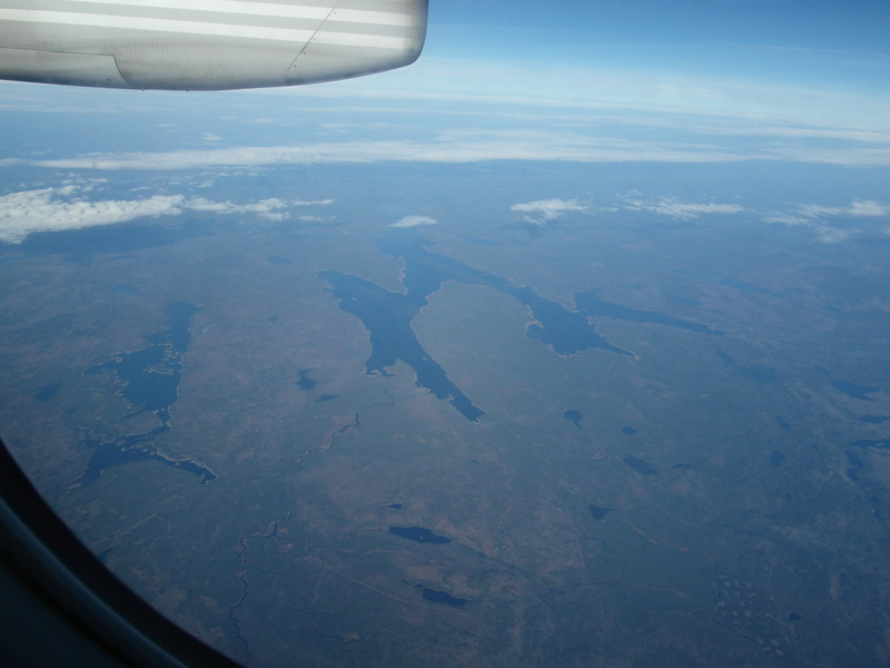 State of Maine Lakes, approaching the Province of Québec