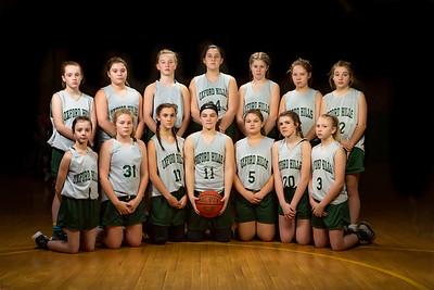 2019-12-20 OHMS Girls' Basketball Team Photos