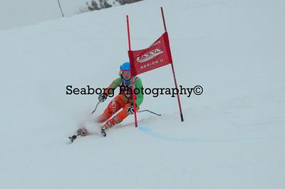 GS 1st Race Girls U16 & Older 2nd Run