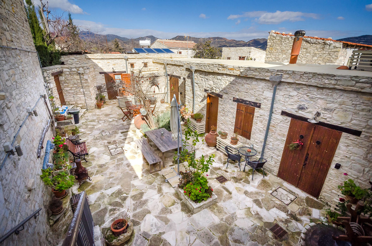 The view from the top | Vavla Rustic Retreat, Cyprus