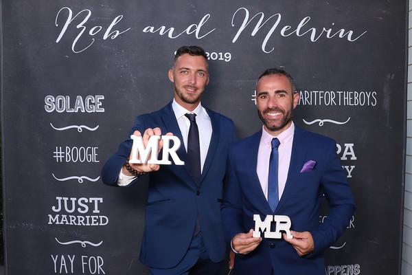 Rob & Melvin's wedding