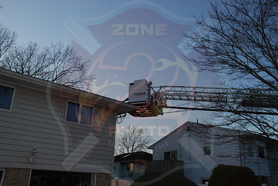 Seaford F.D. Signal 10 Attic Fire 2594 Irene Ln. 3/24/09