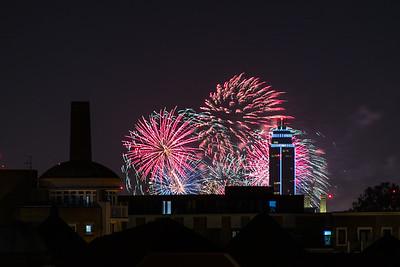 Stave Hill Fireworks - Nov 2018