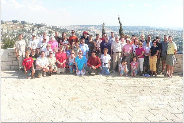 Jeni's Trip to Israel