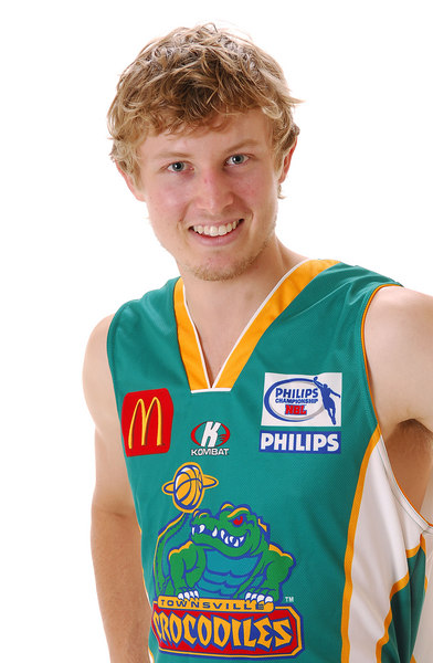 31 OCT 2006 - Max Murray - Home playing strip - Townsville McDonald's Crocodiles players/staff photos - PHOTO: CAMERON LAIRD (Ph: 0418 238811)