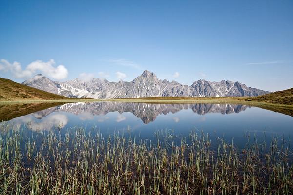 Golmer Joch und Golmer Seen