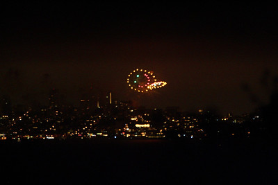 July Fourth from Tiburon 7/4/09