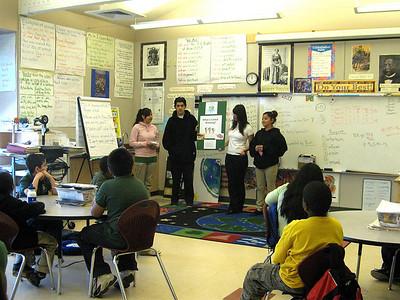 Global Warming Presentations at Encompass Elementary
