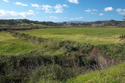 Highway N124 west  of Silves, Algarve [ 37.197008 N : 8.494898 W ]