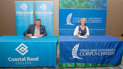 081021 MOU Signing - Coastal Bend College