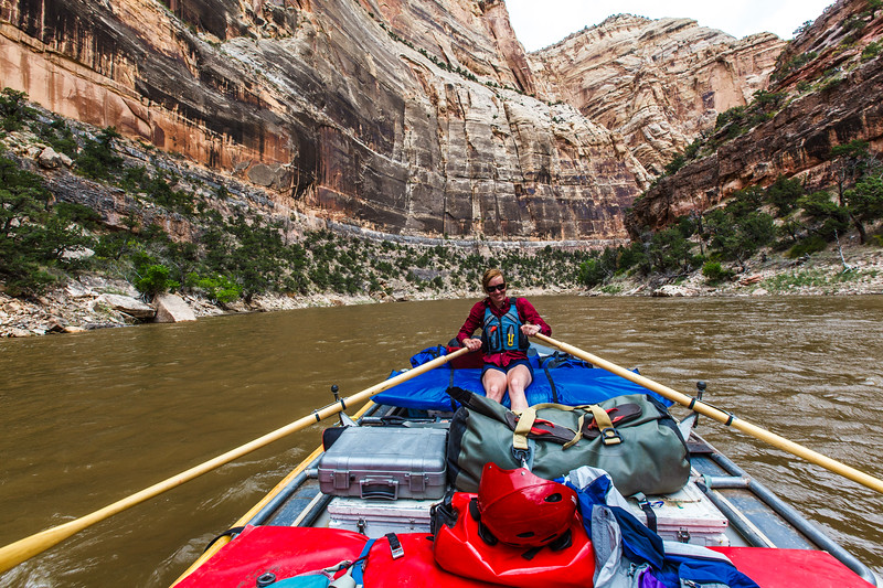Floating the Yampa river