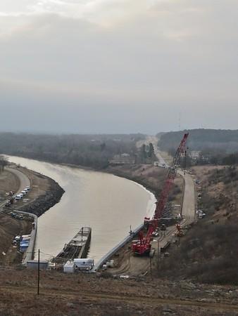 Tuttle Creek Dam - March 20, 2019